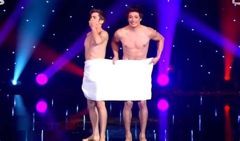 Watch This Two Brave Frenchmen In Their Nearly-Naked Towel