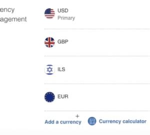 How to add more currencies to your PayPal account (no more