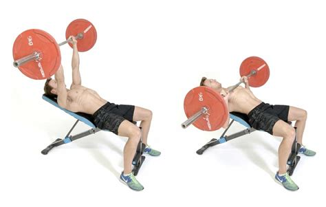 How to do the incline barbell bench press - Men's Health