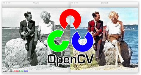 Black and white image colorization with OpenCV and Deep