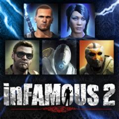 Pack avatar inFamous 2 sur PS3 | PlayStation™Store