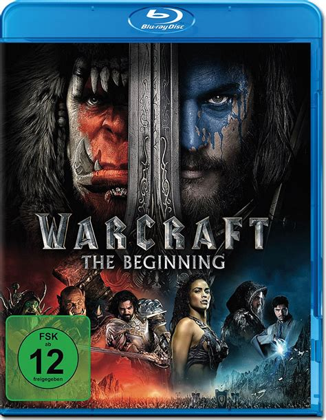 Warcraft: The Beginning Blu-ray [Blu-ray Filme] • World of