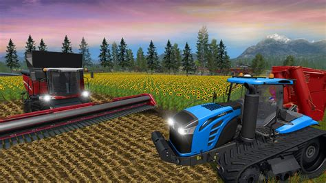 Real Farm Town Farming Simulator Tractor Game for Android