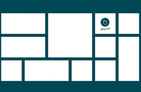 Intuitive Draggable Layout Plugin For jQuery - Gridster