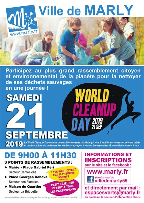 World Cleanup Day Marly