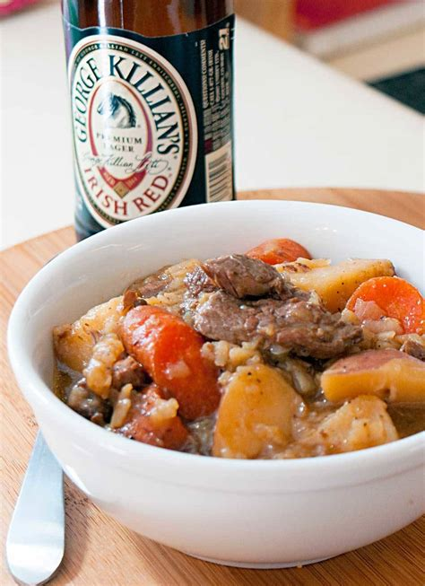 Cowboy Irish Stew - Made with loads of beef and potatoes