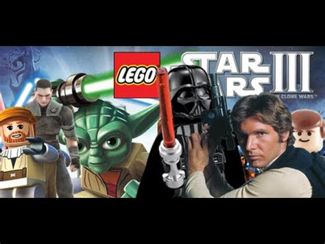 Lego Star Wars 3: The Clone Wars - All Classic Characters