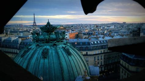 Walking on the roof of the Paris opera house - Garnier