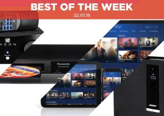 Best of the Week: Bose SoundTouch, Sonos Play:1, Pro-Ject