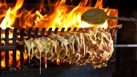 BBC - Travel - The cake French people cook on a spit