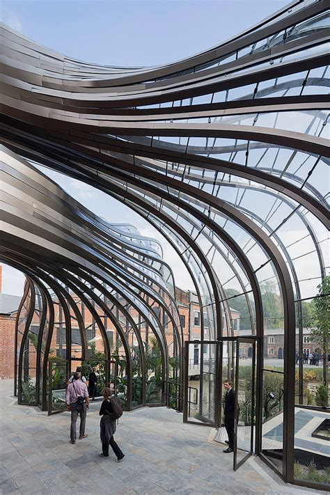Bombay Sapphire Distillery at Laverstoke Mill by Thomas