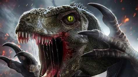 A Priest Turns into a Dinosaur in This Incredible