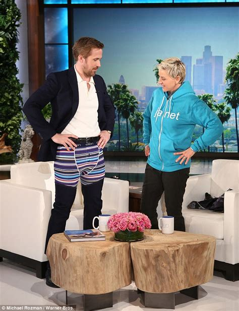 Ryan Gosling gushes over Ellen's mock first pic of baby