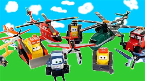 PLANES FIRE & RESCUE 11 NEW Mattel Diecast TOYS DUSTY