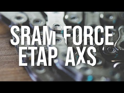 First Look: SRAM Force eTAP AXS Electronic Component Group