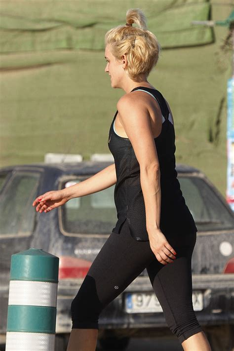 Ashley Roberts in Tights at Boot Camp in Ibiza | GotCeleb