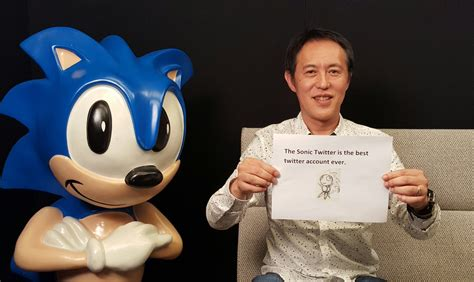 """Sonic the Hedgehog on Twitter: """"This is Naoto Ohshima"""