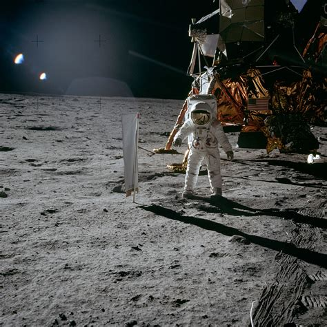 File:Aldrin Next to Solar Wind Experiment - GPN-2000