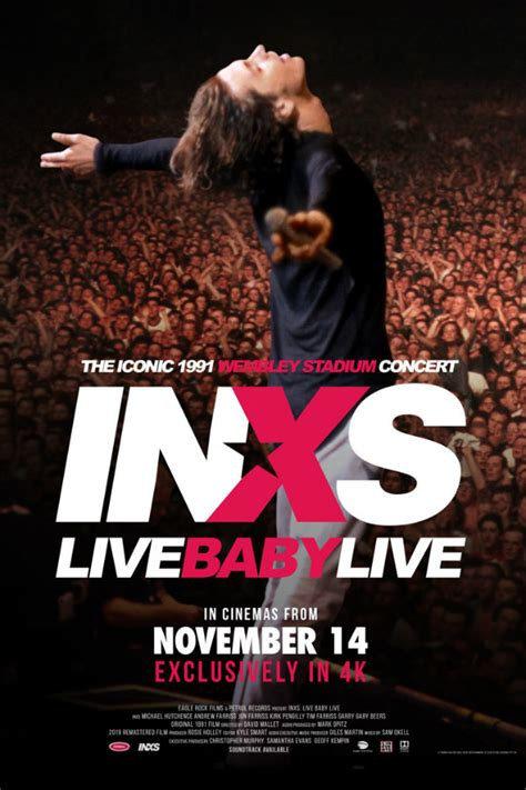 INXS's 1991 concert film 'Live Baby Live' to be screened