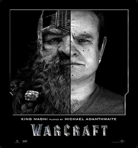 World Of Warcraft Movie Characters Before And After CGI