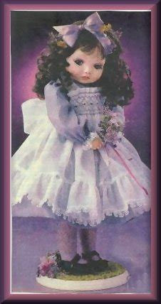 Shy Violet by Klowns by Kay, 16 Size, Flower Girl Series