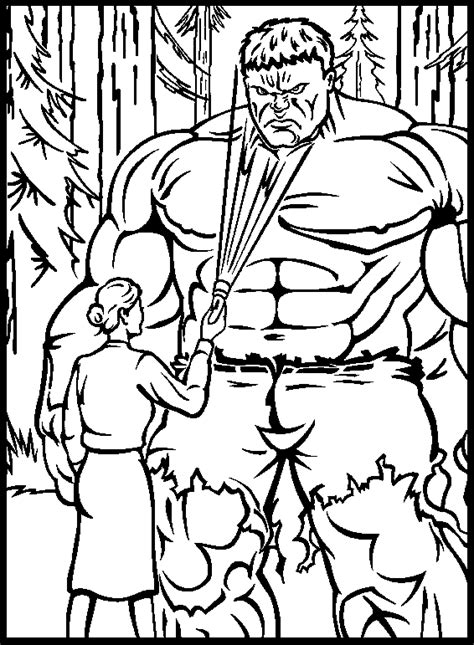 Hulk online coloring pages 13