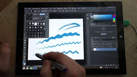 Photoshop CC 2014 on Surface Pro 3 - YouTube