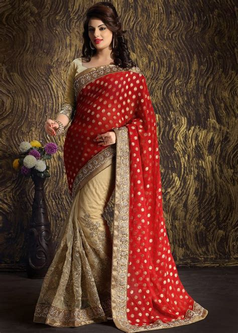 Buy New Designs of Sarees for Dulhan from #IndiaRush