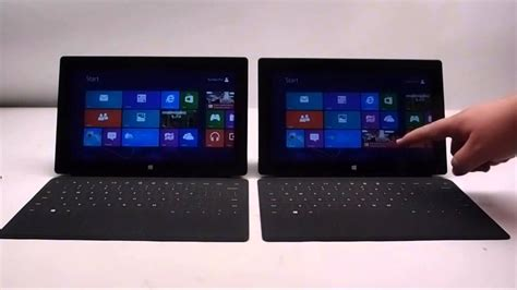 Surface Pro Vs Surface RT - YouTube