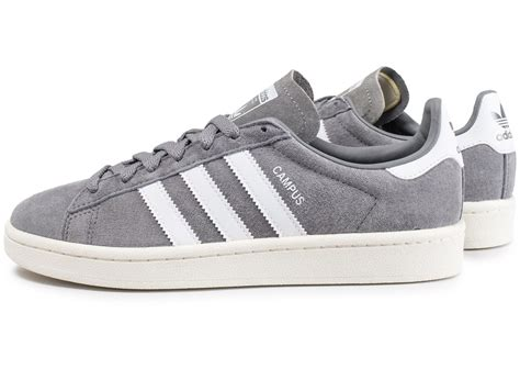 adidas Campus grise - Chaussures Homme - Chausport