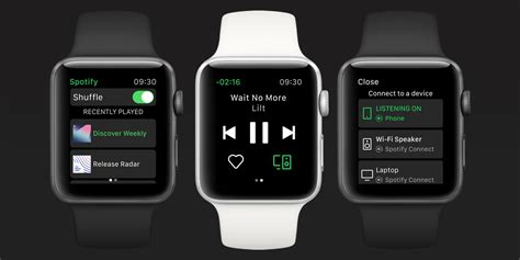 Spotify for iOS updated with Apple Watch app