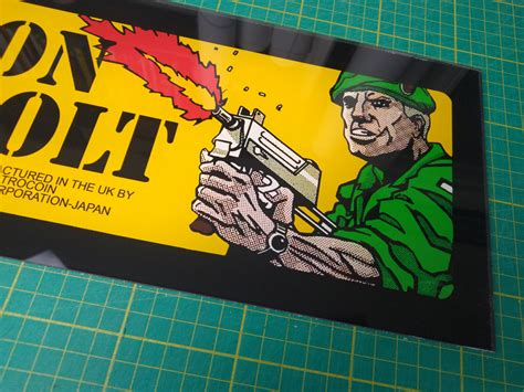 Operation Thunderbolt Electrocoin plexi/perspex marquee