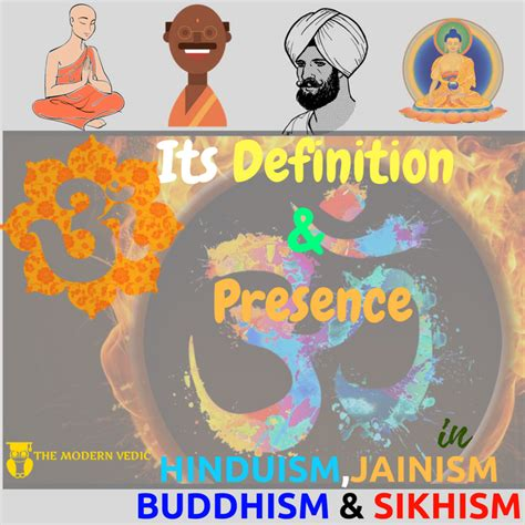 How is AUM - ॐ present in Hinduism,Jainism,Buddhism and