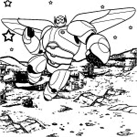 Big Hero 6 coloring pages - Free printable coloring pages