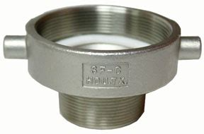 Tanker Parts Store: Pipe adaptor, T316 stainless steel, 3