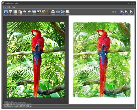 FotoSketcher 3