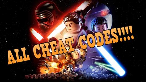 LEGO STAR WARS THE FORCE AWAKENS ALL CHEAT CODES!!! - YouTube