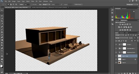 How To Create Shadows in Photoshop for Architectural