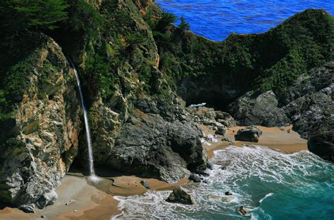 McWay Falls, Big Sur, CA | Splashing and Trailing | Pinterest