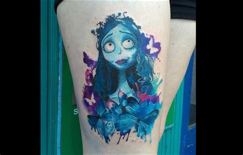 Tatouage : l'univers encré de Tim Burton - TattooMe - Le