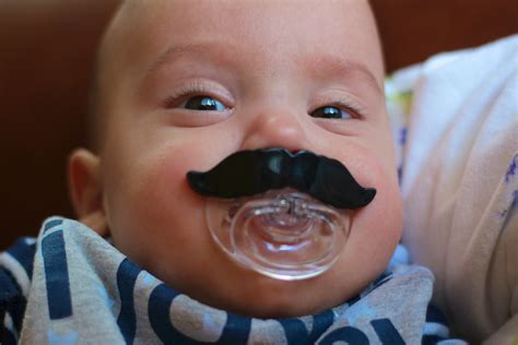 Mustache Baby | baby with a mustache