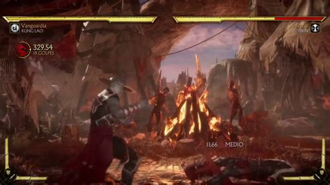 MK11 / Kung Lao & Specific characters - Jump 2 Crossup