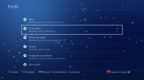 PlayStation 4 : comment changer son pseudo PlayStation