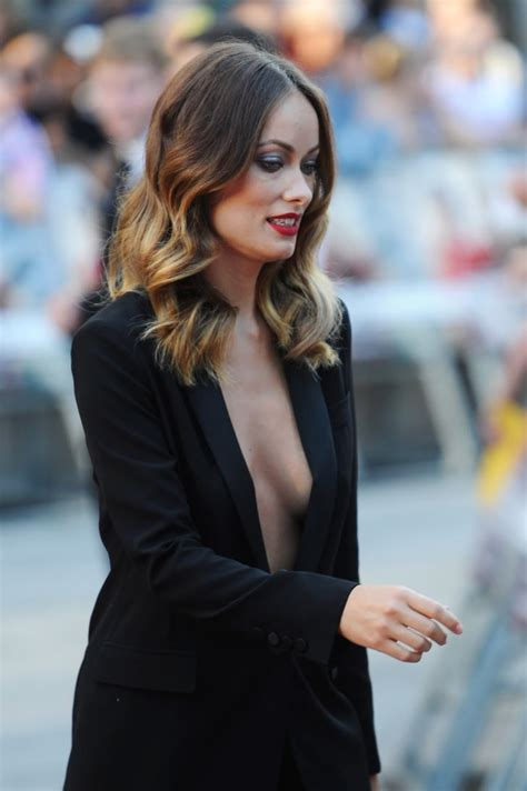 Olivia Wilde took a little time to sign autographs