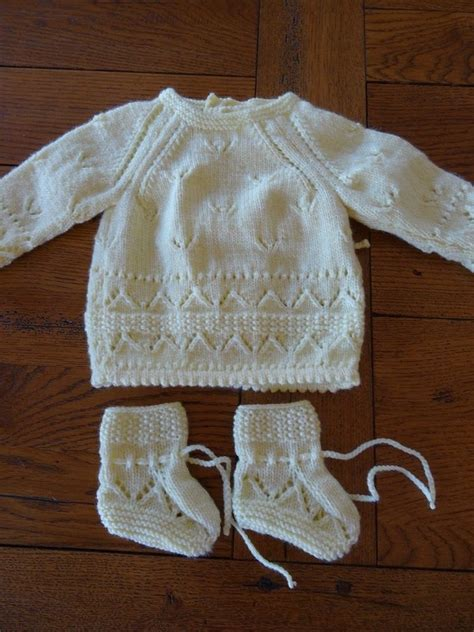 1000+ images about layette tricot & crochet on Pinterest