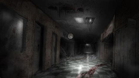 Scary hallway backgrounds - Google Search | Textures for