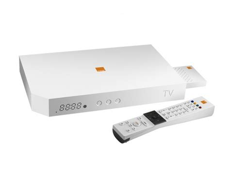 Orange dévoile son décodeur TV Orange Box