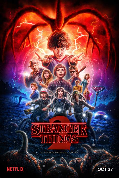 Poster officiel pour Stranger Things 2 – Zickma