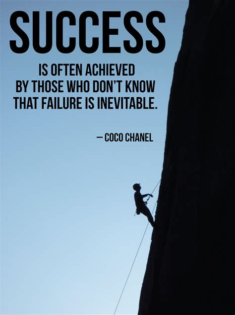 Success | Success is often achieved by those who don't