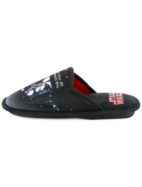 Chaussons mules 'Star Wars' Chaussures - noir/rouge